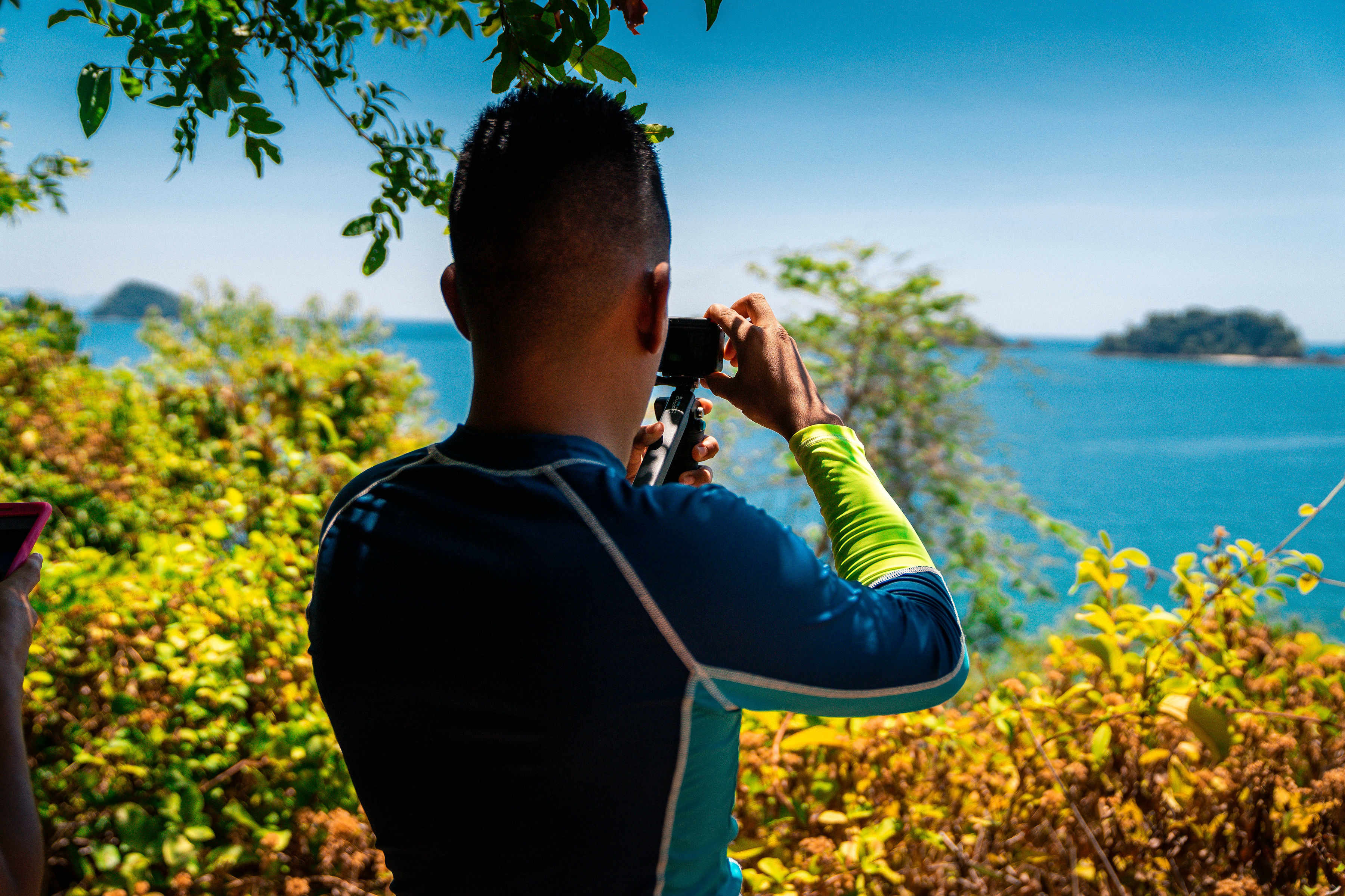 Fotografiando al fotografo