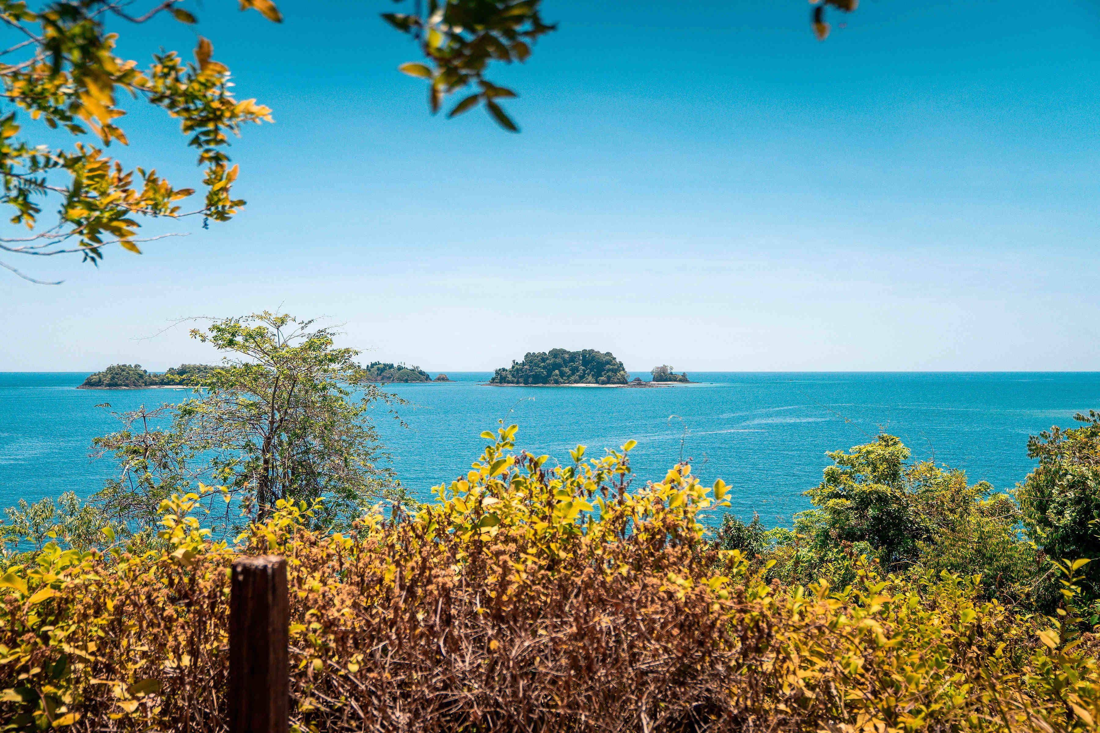 Vistas desde isla coba